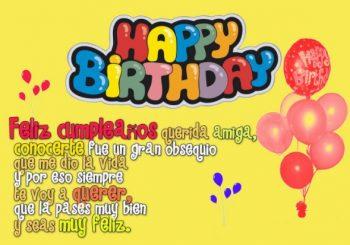 Frases De Feliz Cumpleaños Para Una Amiga Muy Especial