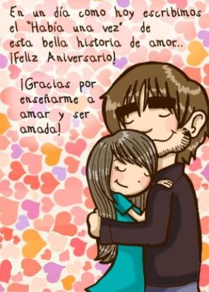 Tarjeta De Feliz Aniversario Mi Amado Amor