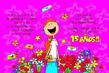 Tarjetas De Feliz 15 Años Para Una Amiga Genial