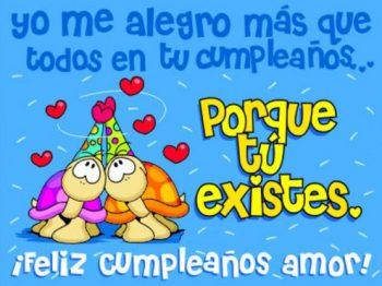 Tarjetas De Feliz Cumpleaños Para Mi Bello Amor
