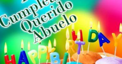 Tarjetas De Feliz Cumpleaños Para Un Abuelo Dulce