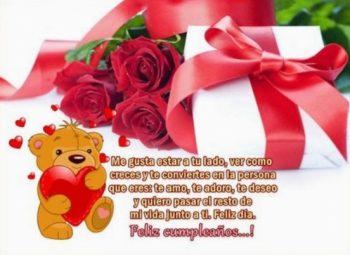 Tarjetas De Feliz Cumpleaños Para Una Nieta Romántica