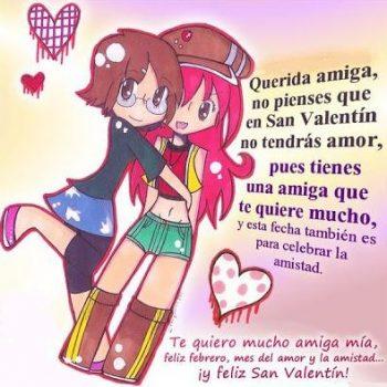 Tarjetas De Feliz San Valentín Para Una Amiga Muy Estimada