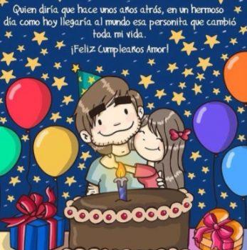 Tarjetas de Feliz Aniversario Para Mi Gran Amor