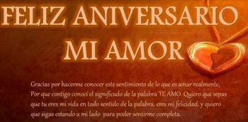Frases De Feliz Aniversario Para Un Amor Encantador