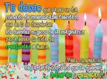 Frases De Feliz Cumpleaños Para Un Amigo Admirable