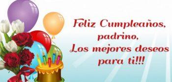 Frases De Feliz Cumpleaños Para Un Padrino Presente