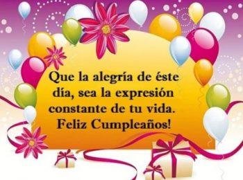 Imágenes Con Frases De Feliz Cumpleaños Para Una persona Alegre