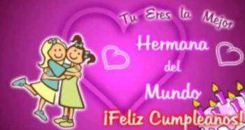 Mensajes De Feliz Cumpleaños Para Una Hermana Fantástica
