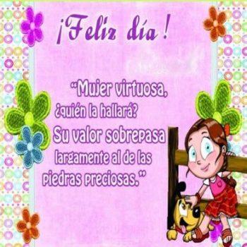 Feliz Día De La Mujer Virtuosa