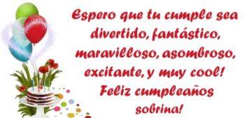 Frases De Feliz cumpleaños Para Una Sobrina Señorita