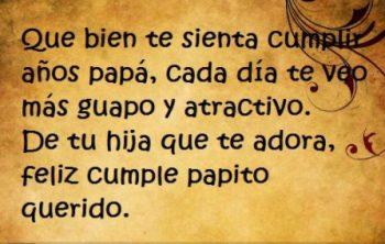 Mensajes De Feliz Cumpleaños Para Un Padre Guapo