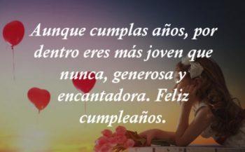 Mensajes De Feliz Cumpleaños Para Una Enamorada Encantadora