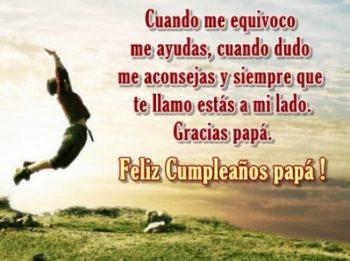 Mensajes De Feliz Cumpleaños Para un Padre Protector