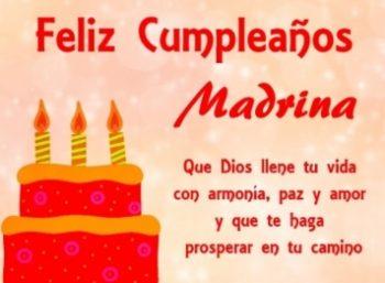 Feliz Cumpleaños Madrina Optimista