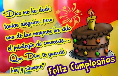 Feliz cumpleaños Compadre Optimista